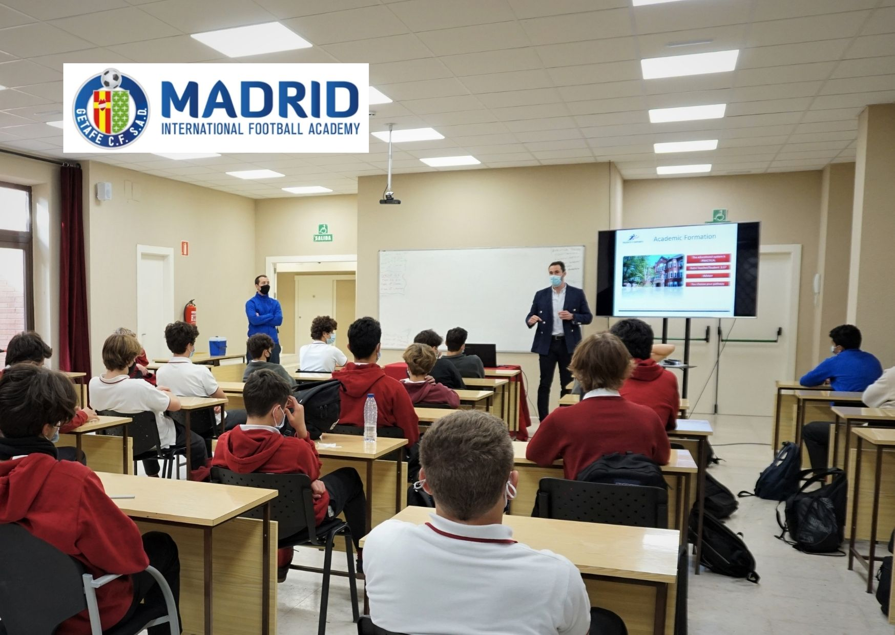 Talento & Deporte Visits Getafe International MFA