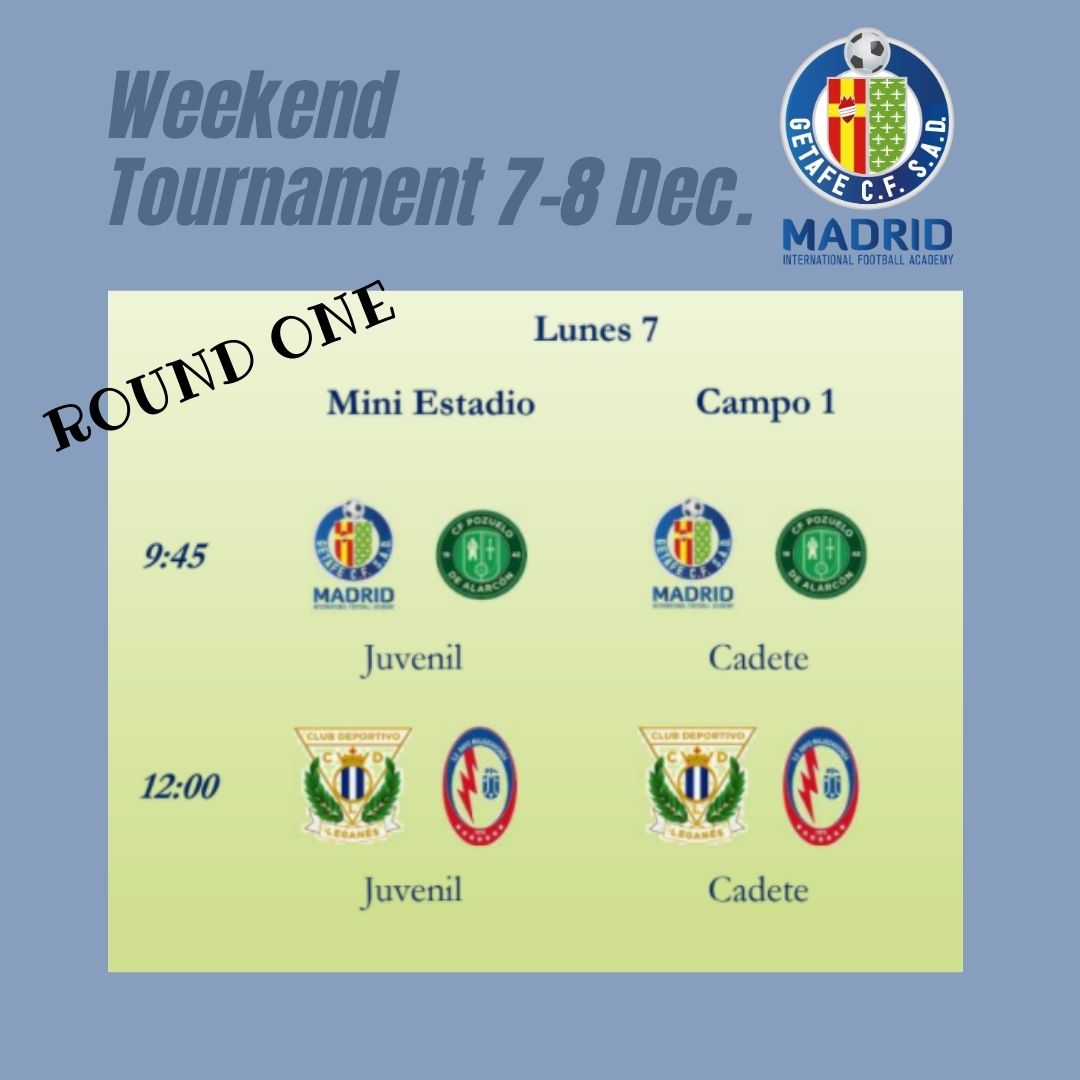 First Getafe International MFA Tournament (7-8 Dec.)