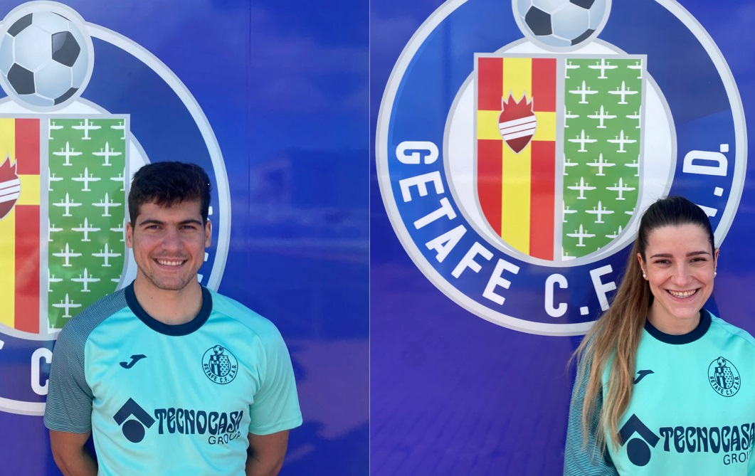 Physiotherapists Mateo Pérez and Marta Nieva Join Our Staff Team